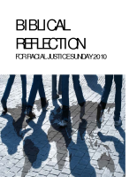 RJS 2010 Biblical reflections based on Lectionary readings