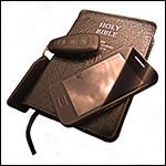 Bible and keys cutout - CTBI Lent 2014