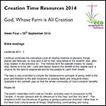 Creation Time 2014 week 4