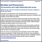 Lent study 2014 - Parables and Possessions - TEXT (English)
