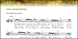 Week of Prayer for Christian Unity 2015 - Irish Vem Espirito music