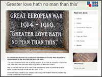 Bible Society - WWI resources