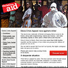 Christian Aid Ebola Crisis appeal