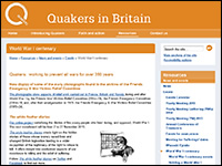 Quakers - WWI resources