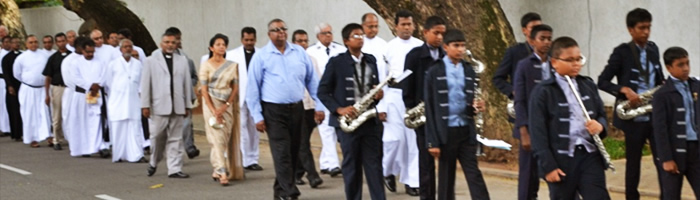 Sri Lanka - centenary of the National Christian Council