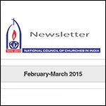 Latest newsletter from National Council of Churches in India