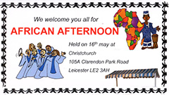Christians Aware Africa afternoon