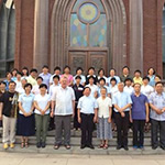 Opening of spiritual directors training in Beijing