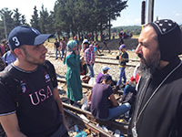 Bishop angaelos and refugee