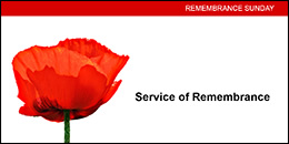 Remembrance Sunday order of service Powerpoint