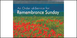 Remembrance Sunday order of service (published version)