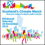 Scottish climate march 2015