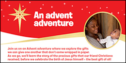 Christian Aid resources for Advent