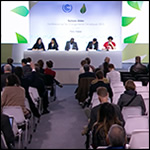 CAN press conference at COP21 climate change conference