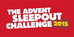 Church Urban Fund Advent Sleep-out Challenge