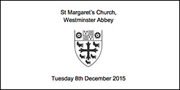 Vigil for refugees at St Margaret's Church 8th December 2015