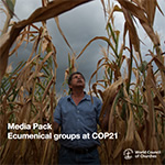 WCC media pack for COP21