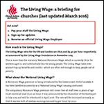 Updated briefing on the Living Wage – Church Action on Poverty
