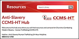 Churches Combating Modern Slavery - Human Trafficking hub