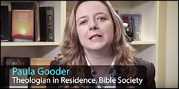Pauler Gooder, theologian in residence at The Bible Society
