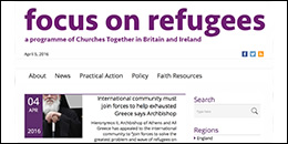 Focus on Refugees website