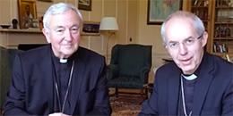 Archbishop Welby and Cardinal Nichols live Facebook Q & A