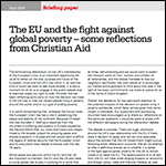 Christian Aid briefing on EU referendum
