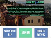 Christians for Europe website