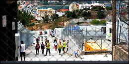 CTBI visit to refugees in Samos