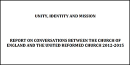 Report on converstauions between Church of England and URC 2012 to 2015