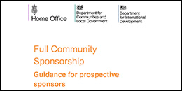 community refugee sponsorship scheme