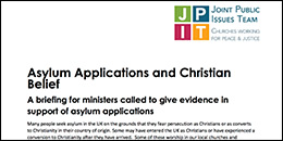 Update: Asylum applications and Christian belief