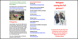 Facts about refugees leaflet