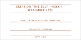 Creation Time 2017 week 4