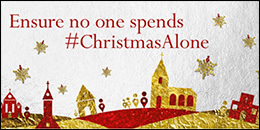 Christmas Alone campaign