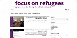 Focus on Refugees website