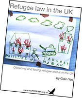Refugee law in the UK