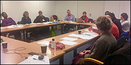 Churches Refugee Network (CRN) meeting