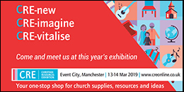 Christian Resources Exhibition North: 13-14 March 2019